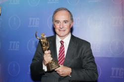 Jean Gabriel Prs receives TTG Asia's honour &quot;Travel Personality of the Year 2012&quot;